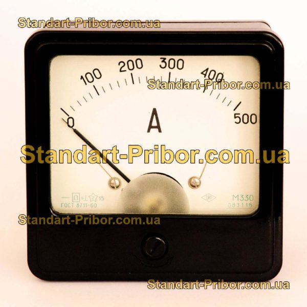 М330 амперметр, вольтметр - фотография 1