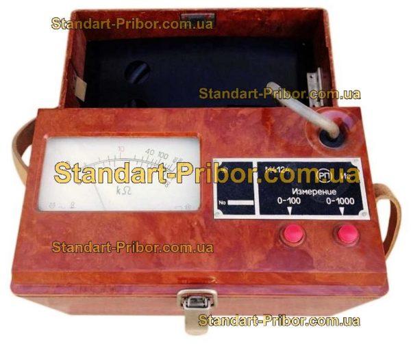 М4124 омметр, измеритель полного сопротивления изоляции - фотография 1