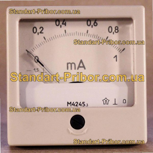 М4245 микроамперметр - изображение 2