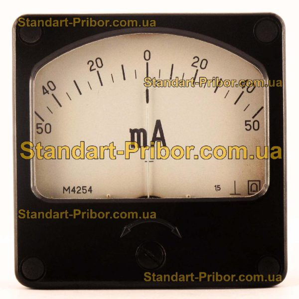 М4254 амперметр, вольтметр - изображение 2