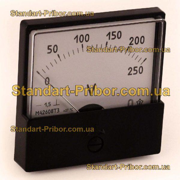М42608 амперметр, вольтметр - фотография 1