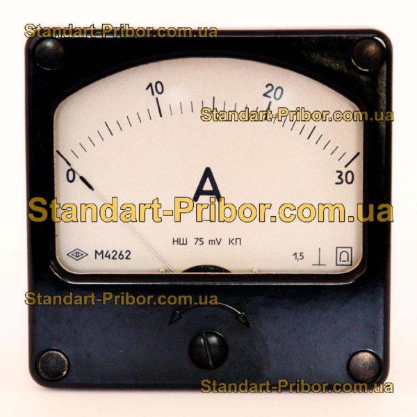 М4262 амперметр, вольтметр - фотография 1