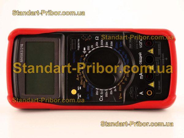 М4583/2Ц тестер, прибор комбинированный - фото 3