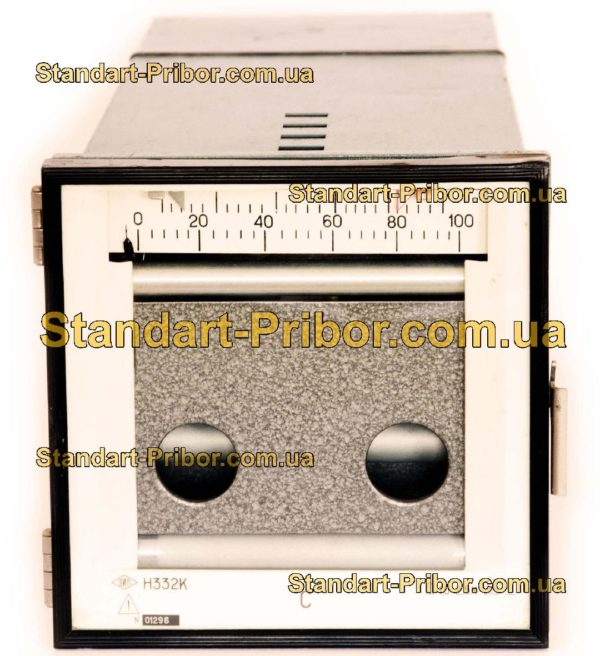 Н332К прибор самопишущий щитовой - фотография 1