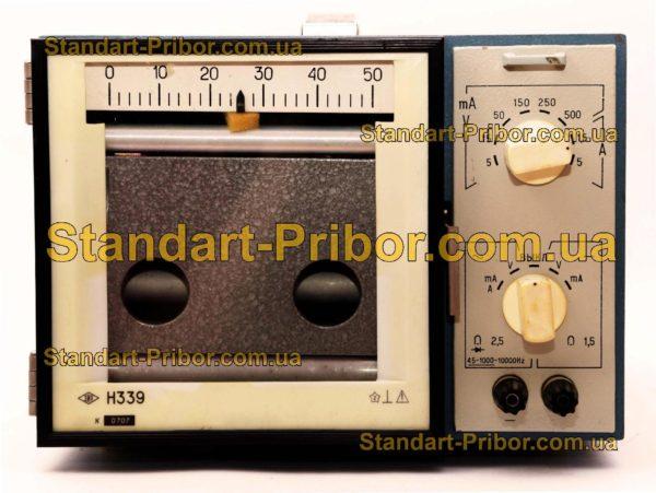 Н339 прибор самопишущий щитовой - фотография 1