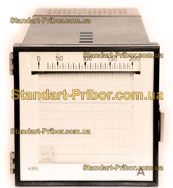 Н393 прибор самопишущий щитовой - фотография 1