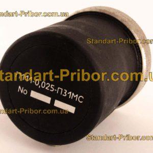 П111-0.025-П31МС преобразователь пьезоэлектрический - фотография 1