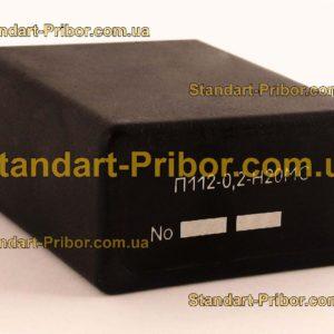 П112-0.2-Н20МС преобразователь пьезоэлектрический - фотография 1