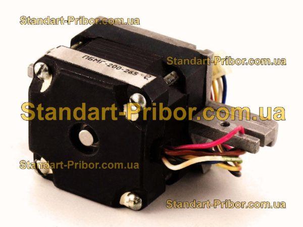 ПБМГ-200-265 электродвигатель шаговый - фотография 1