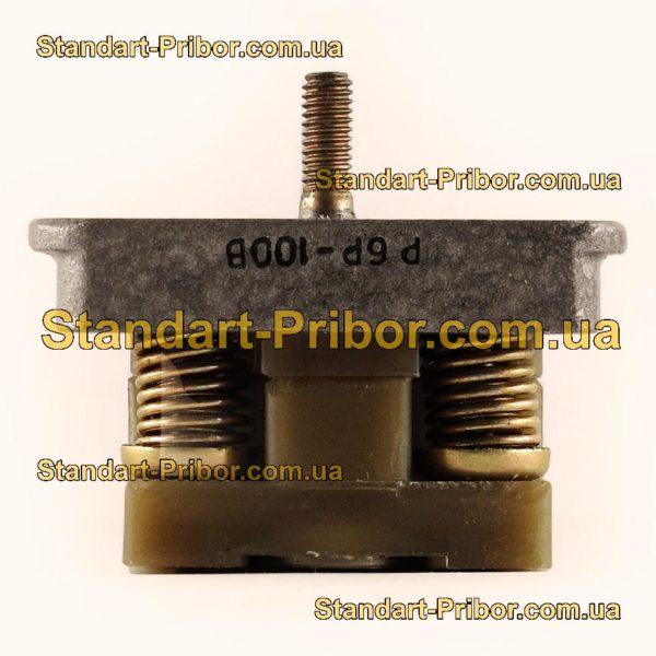 Р6Р-100В розетка блочная - фотография 4