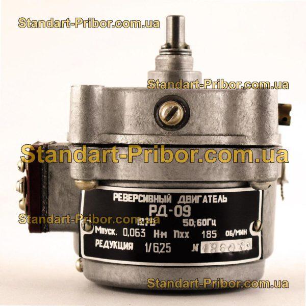 РД-09 185 1/6.25 двигатель реверсивный асинхронный, электродвигатель РД09 - фото 3