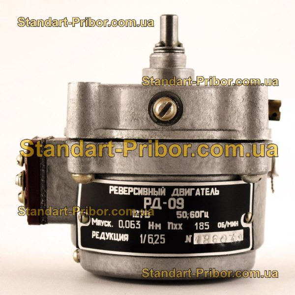 РД-09-А 185 1/6.25 двигатель реверсивный асинхронный, электродвигатель РД09 - фото 3