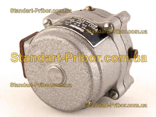 РД-09-А 4.4 1/268 двигатель реверсивный асинхронный, электродвигатель РД09 - изображение 2