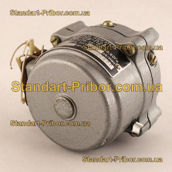 РД-09-П2А 8.7 1/137 двигатель реверсивный асинхронный, электродвигатель РД09 - фотография 1