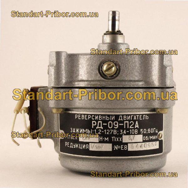 РД-09-П2А 8.7 1/137 двигатель реверсивный асинхронный, электродвигатель РД09 - изображение 5