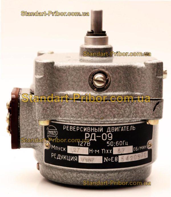 РД-09-ПА 8.7 1/137 двигатель реверсивный асинхронный, электродвигатель РД09 - фотография 1