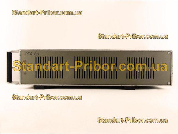 РГ4-03 генератор сигналов высокочастотный - фото 3