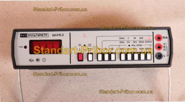 Щ4313.2 тестер, прибор комбинированный - изображение 2