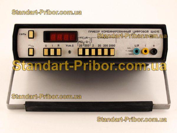 Щ4315 тестер, прибор комбинированный - изображение 2