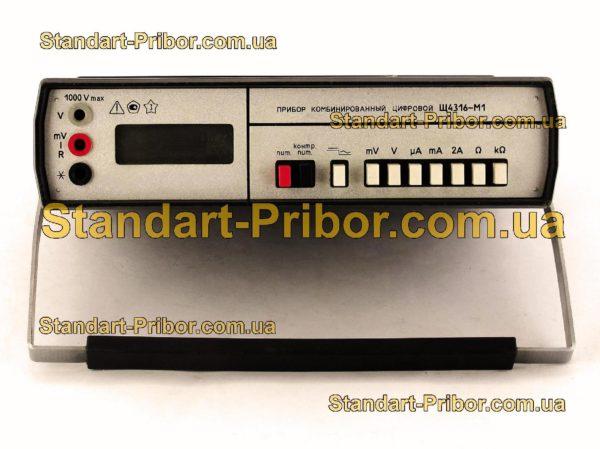 Щ4316 тестер, прибор комбинированный - изображение 2