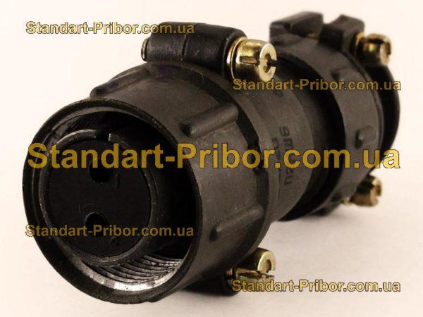 ШР20П2НШ6 розетка кабельная - фотография 1