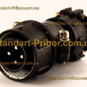 ШР20П4НГ8 вилка кабельная - фотография 1