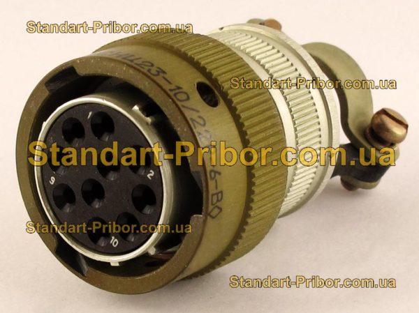 СНЦ23-10/22Р-6-В без контактов розетка кабельная - изображение 2