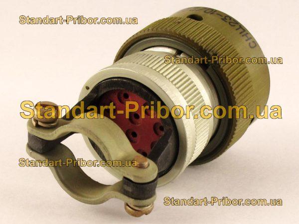 СНЦ23-10/22Р-6-В без контактов розетка кабельная - фото 3