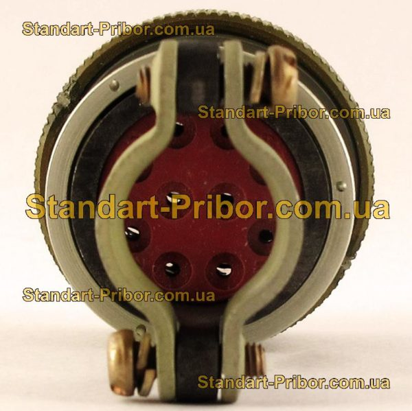 СНЦ23-10/22Р-6-В без контактов розетка кабельная - фото 6
