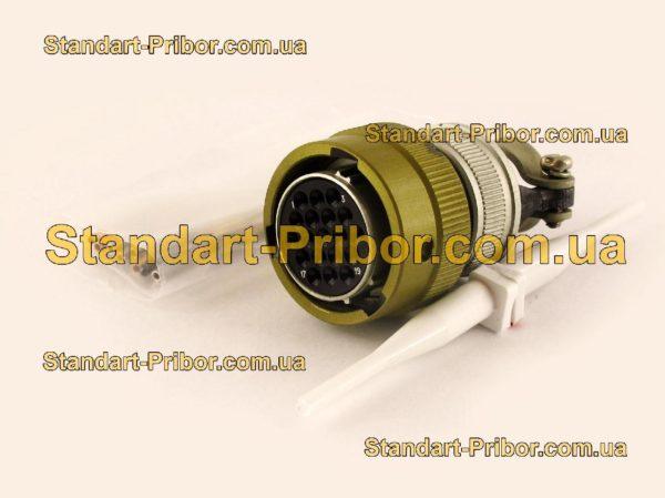 СНЦ23-19/22Р-6-А-В без контактов розетка кабельная - фотография 1