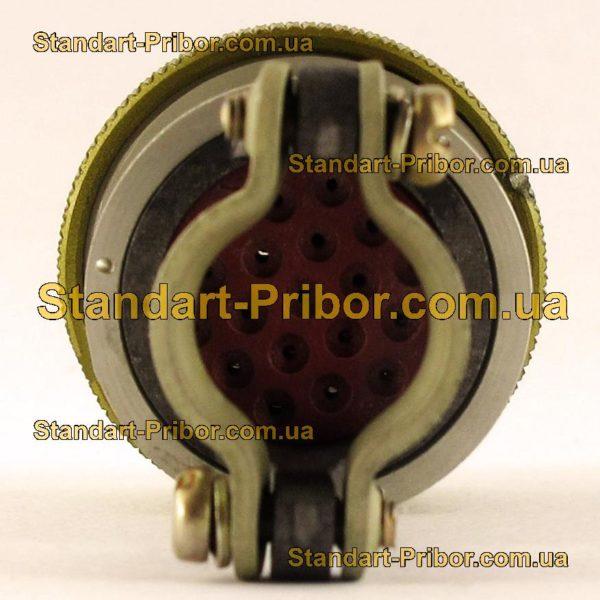 СНЦ23-19/22Р-6-А-В без контактов розетка кабельная - фото 6