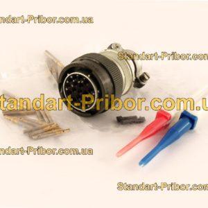 СНЦ23-19/24Р-6-Б-В без контактов розетка кабельная - фотография 1