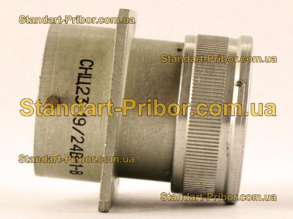 СНЦ23-19/24В-1-В без контактов вилка приборная - изображение 5