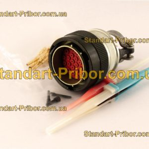 СНЦ23-28/27В-6-В без контактов вилка кабельная - фотография 1