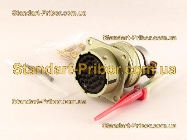 СНЦ23-32/27Р-2-А-В без контактов розетка приборная - фотография 1