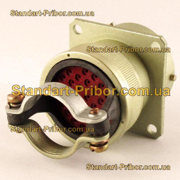 СНЦ23-32/27Р-2-А-В без контактов розетка приборная - фото 3