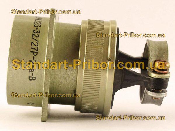 СНЦ23-32/27Р-2-А-В без контактов розетка приборная - изображение 5