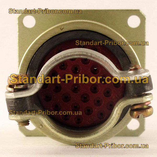 СНЦ23-32/27Р-2-А-В без контактов розетка приборная - фото 6