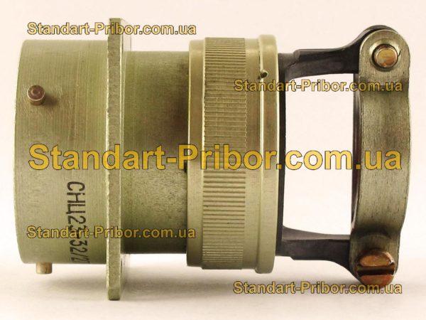 СНЦ23-32/27Р-2-А-В без контактов розетка приборная - фотография 7