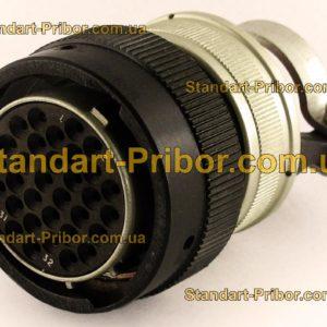 СНЦ23-32/27Р-6-В без контактов розетка кабельная - фотография 1