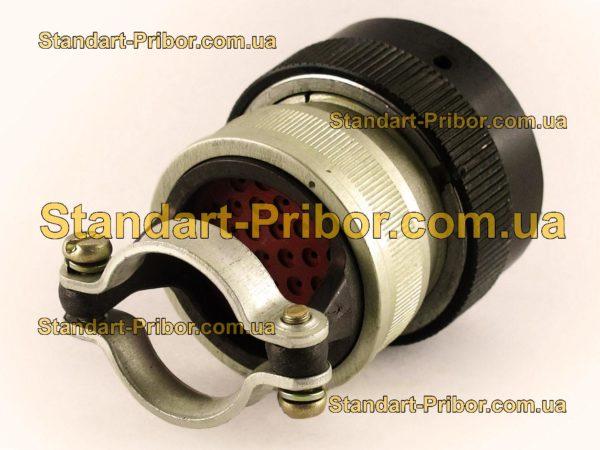 СНЦ23-32/27Р-6-В без контактов розетка кабельная - изображение 2
