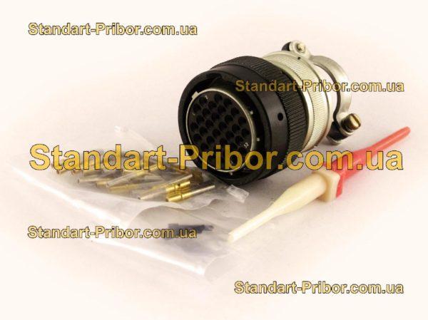 СНЦ23-32/27Р-6-В без контактов розетка кабельная - фото 3