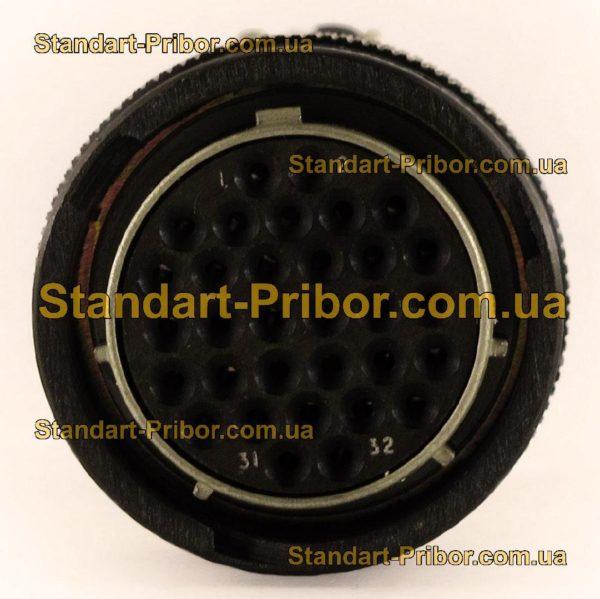 СНЦ23-32/27Р-6-В без контактов розетка кабельная - фотография 4