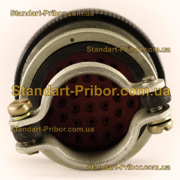 СНЦ23-32/27Р-6-В без контактов розетка кабельная - фото 6