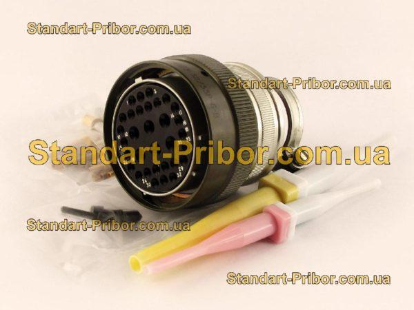 СНЦ23-32/33Р-6-В без контактов розетка кабельная - фотография 1