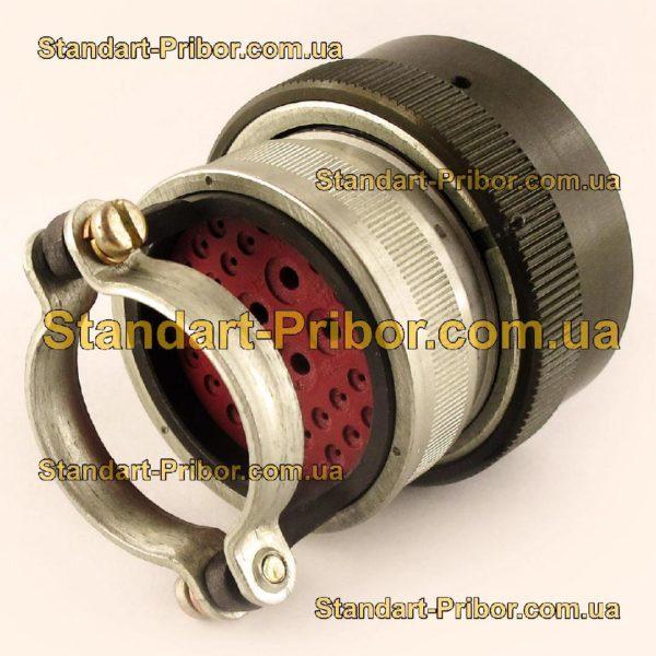 СНЦ23-32/33Р-6-В без контактов розетка кабельная - фото 3