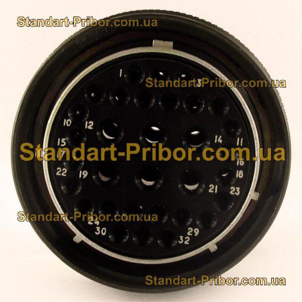 СНЦ23-32/33Р-6-В без контактов розетка кабельная - фотография 4