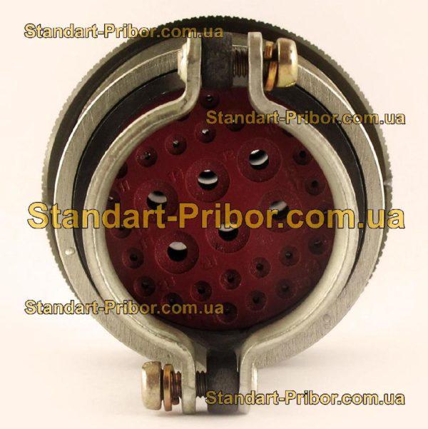 СНЦ23-32/33Р-6-В без контактов розетка кабельная - фото 6