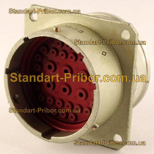 СНЦ23-32/33В-1-В без контактов вилка приборная - фото 3