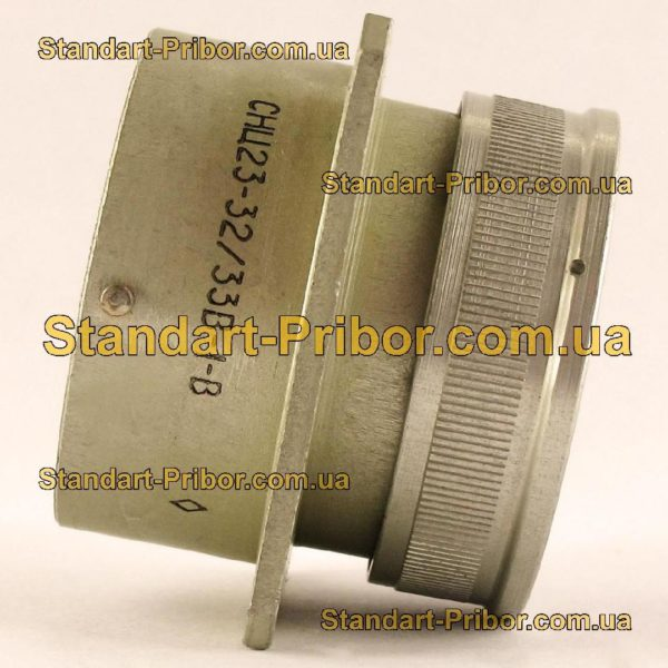 СНЦ23-32/33В-1-В без контактов вилка приборная - изображение 5